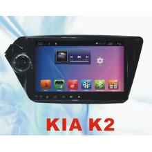 Rádio do carro do sistema do Android para KIA K2 9inch com carro DVD