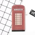 Porte-monnaie simple de style cabine téléphonique