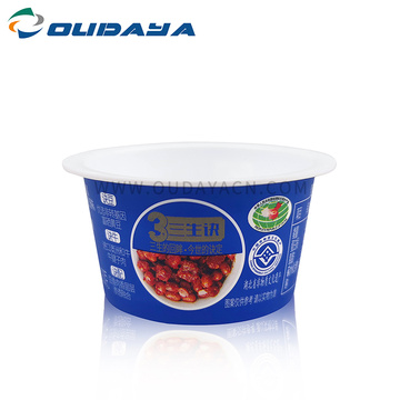 wholesale Tazza di gelatina di budino di salsa usa e getta in plastica