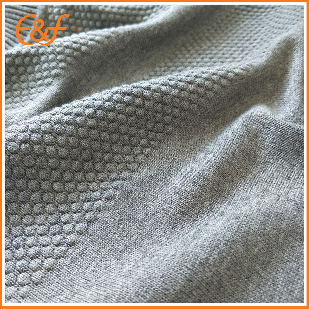 Knitted Turtleneck sweater fabric
