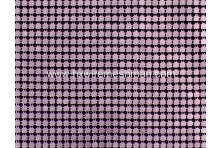 Aluminium metallic fabric cloth