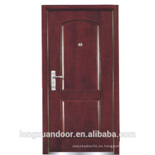 Puerta ignífuga de madera, puerta de fuego exterior de madera, puertas de madera con clasificación de fuego