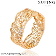 51295 -Xuping jewelry queen crown Fashion Woman Bangle with 18K Gold Plated