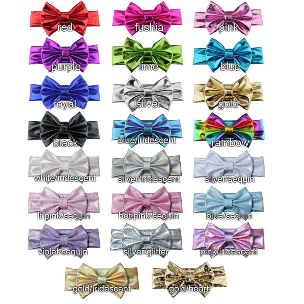 Head Band With Bow all colors