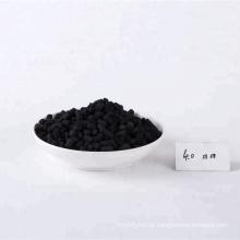 Pelotas koh impregnadas de carvão ativado