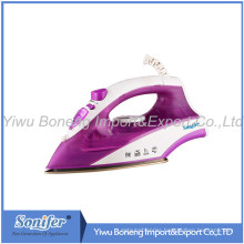 Travelling Steam Iron Ei-8817 Electric Iron with Ceramic Soleplate (Purple)