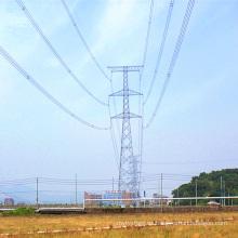 220kv Torre de transmisión de potencia de poste de acero
