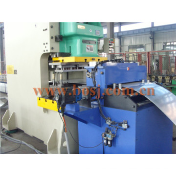 Galvanized Q235B Gi Solid Slotted Cable Tray Roll Forming Making Machine Thailand