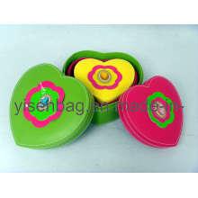 Caja de joyería de las señoras de moda (YSCF00-18124)