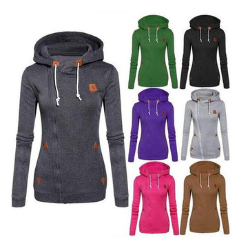 2016 Hot Selling New Designed Fleece Hooded Long-Sleeved Casual Sweater (80003)