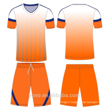 OEM \ ODM service unique bas prix réversible football jersey haute qualité football chemise maker football jersey