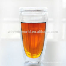 World Cup Promotional Advanced Reusable Glass Thermo Mug