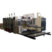 computer 4 color corrugated cardboard pizza box printing press machine