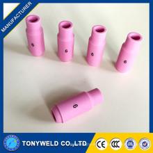 Tig soldador antorcha 10N tipo tig boquilla de cerámica 4 5 6 7 boquilla de soldadura