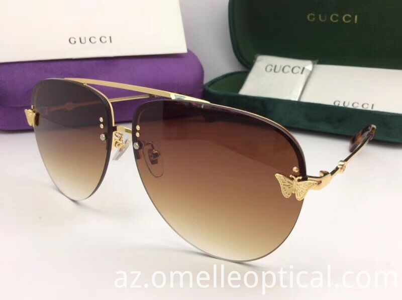 Mirrored Sunglasses Luxury