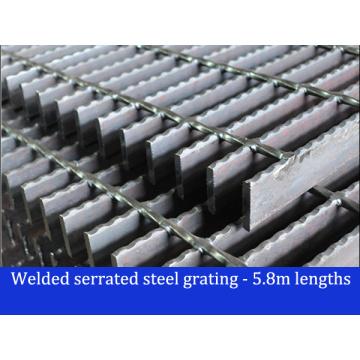 Welded Serrated Steel Bar Grating