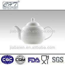 white fine bone china antique ceramic teapots