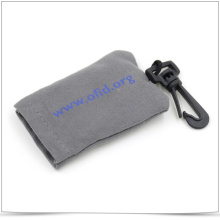 Microfiber Keychain Glasses Cleaning Cloth