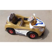 Passeio em carros de brinquedo para crianças
