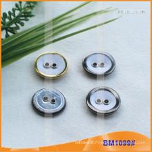 Bottes de couverture de tissu de bouton de combinaison de bouton de combinaison Boutons de couverture de tissu BM1099