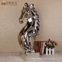 Décoration intérieure table résine table artisanat tête de cheval sculpture