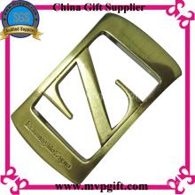 Hebilla de cinturón de metal con el logotipo del cliente