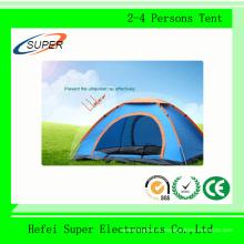 Tente de camping en plein air à prix bon marché pour 2-4 personnes