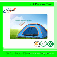Barraca de acampamento ao ar livre de preço barato para 2-4 pessoas