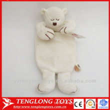 winter warm bag plush sleeping bear hot water bag