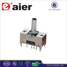 Mini interruptor deslizante TS23E01 hecho en China interruptor de posición deslizante 3
