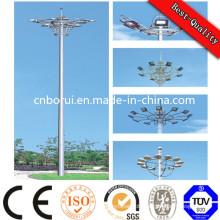 01 Stadium Lighting High Mast Lighting Pole, Steel Pole Light Pole with Lift System