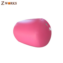 Cheap price safe and comfortable cheerleading inflatable air barrels for fitness