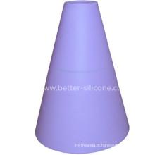 Capa de luz personalizada do silicone do elastômero