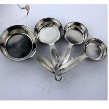 18/8 Stainless Steel Spoon and Cup 1 1/2 1/3 1/4 Cup