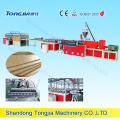 WPC Three Layers Skinning Foam Plates Making Machine (JG-MSC)