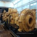 Draga de succión con cortador de 20 pulgadas / recipiente de dragado para depósito / maquinaria de ingeniería