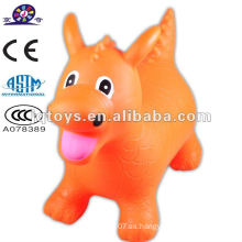 Jinete de caballo jumping animal toy Dragon