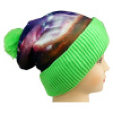 Knitted Beanie with Sublimation Printing NTD1676