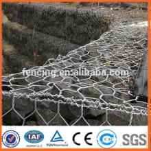 Faible prix pente protection réseau gabion boîte mur