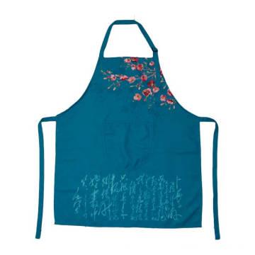2018 KEFEI Fashion Смешные печатные синий фартук