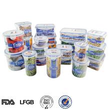 Recipiente de alimento plástico da microonda