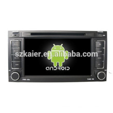 Android 4.4 Mirror-link TPMS DVR 1080P dual core multimedia central para Volkswagen Touareg con GPS / Bluetooth / TV / 3G