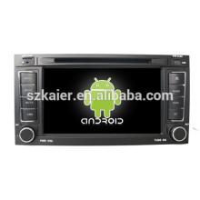 Android 4.4 Miroir-lien TPMS DVR 1080P dual core voiture navigateur pour Volkswagen Touareg avec GPS / Bluetooth / TV / 3G