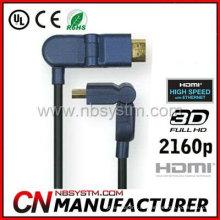 HDMI-Kabel Ein Stecker auf D-Stecker