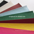 2015 high quality fancy paper flocking stickers with flocking insert