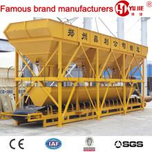 Máquina de dosagem de concreto PLD1600-3, escaninhos agregados, agregando sistema de dosagem, sistema de pesagem agregada
