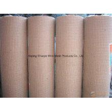 Chine Fournissez la maille soudée professionnelle d'acier inoxydable / grillage soudé galvanisé / fil soudé par PVC Emsh