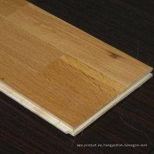 El mejor precio barato de la calidad Unilin Lock 15mm / 4mm 3-Strip Oak Engineered Wood Flooring
