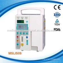 MSLIS09W Portable en pompe à perfusion à seringue IV et pompe à perfusion automatique (système de porte)