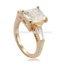 2014 barato grosso diamante solitário anéis de noivado